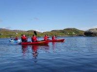 Kayaking in Isle of Harris.