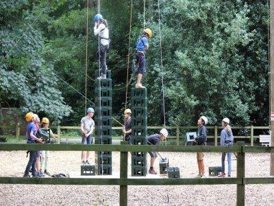 XUK Activity Summer Camp High Ropes