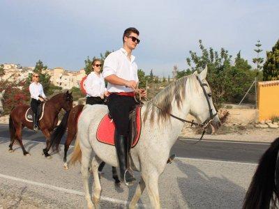 Horseback Excursion Near Torrevieja, 2h