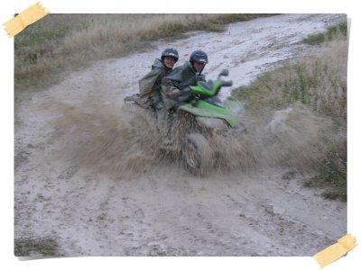 Two-seater quad bike trip in Torremolinos 1 hour