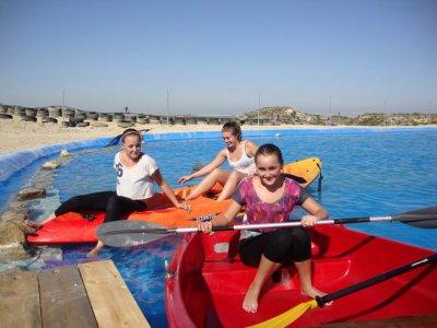Kayak Rental in Artificial Lake Alicante 30min