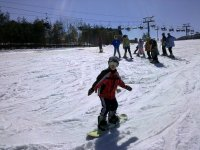Snowboarding for kids!
