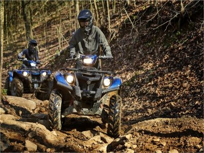 Single-seater quad trip in Montnegre 1 hour