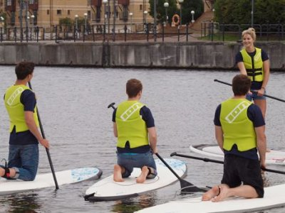 Wakeup Docklands Stand Up Paddle Boarding