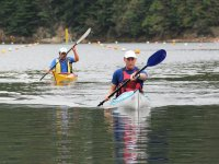 Take your kayaks out for a paddle at Holborough Lakes