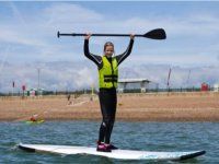 Stand Up Paddleboarding is lots of fun.