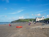 Broadhaven is a popular spot to kayak as well!