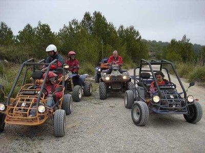Two-seater buggy trip. El Garraf Natural Park. 2h