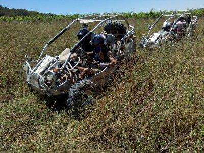 1h two-seater dune buggy ride Vilanova i la Geltrú