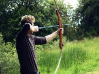 Traditional archery targets