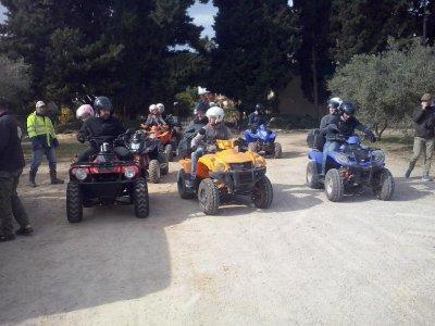 3h two-seater ATV tour in Vilanova i la Geltrú