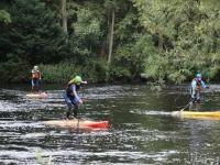 Paddle Boarding in Aberfeldy Scotland