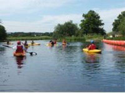 Nene Whitewater Centre Kayaking