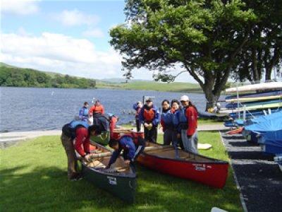 Longrigg Residential Centre Canoeing