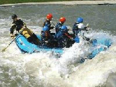 Nene Whitewater Centre Rafting