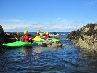 kayaking trearddur bay