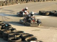 Outdoor karting circuit