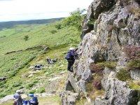 Climbing at Crock Crag
