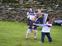 Practice archery on our open air range