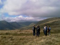 North across the Kentmere Valley