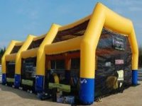 The paintball arena