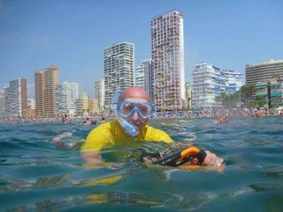 Yellow Submarine Sea Scooter Rental Hidrospeed