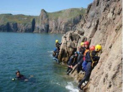 Pembrokeshire Adventure Centre Coasteering