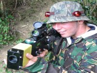 Digital laser gun