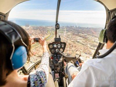 We Barcelona Paseo en Helicóptero