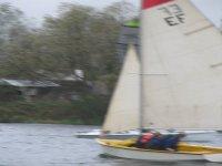 Sailing at the lake