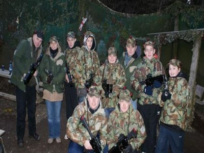 Devon Country Pursuits Laser Tag