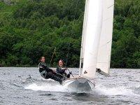 Thrilling sailing