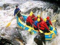 Exhilarating white water rafting