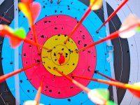 Archery with Stand Up Paddle board UK