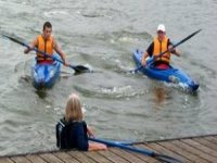 Enjoy a paddle on the water or take on our river journey