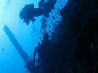 Divers enjoying the dive