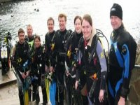 Diving at Stoney Cove