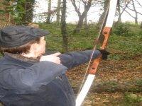 Field archery with longbows