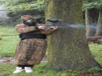 Military paintball