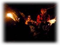 Explore the subterranean cave systems