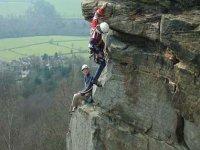 Climbing is so much fun.