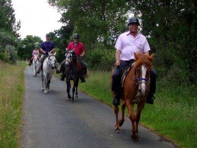 Horse riding tour in Cortafuegos 2 hours.