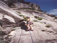 Climbing French Rock