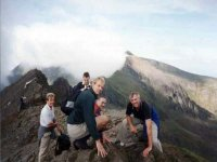 Crib Goch, the most famous ridge climb in the UK