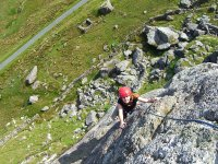 Climbing adventure in the Snowdonia National Park