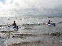 Surf Kayaking!
