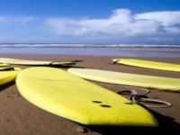 Surfing lessons on the beaches of Cornwall