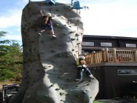 Take on our challenging climbing wall