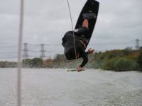 An experienced wakeboarder