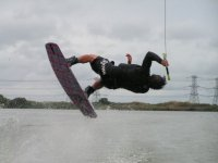There are no limits with wakeboarding
